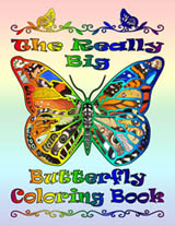 The Really Big Butterfly Coloring Book